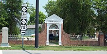 Tabor City NC Welcome Arch Jun 10.JPG