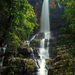 Talakona - Talakona waterfall view