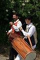 Tambourinaires à la fête votive de Saint-Geniès-de-Comolas.jpg