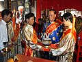 Taoist ceremony at Xiao ancestral temple in Chaoyang, Shantou, Guangdong (inside) (1).jpg