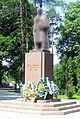 Taras Shevchenko Statue in Ivano-Frankivsk Blurred.jpg