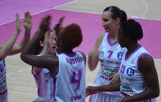 Charde Houston - Charde Houston in Tarbes (2009).