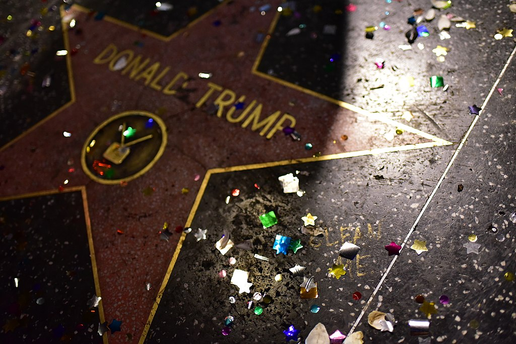 Tarot Society @ Donald Trump Star on Hollywood Boulevard 17C 2024 (37861035166)