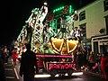 Taunton carnival 2019 - Harlequin CC The Ironworks (cart).JPG
