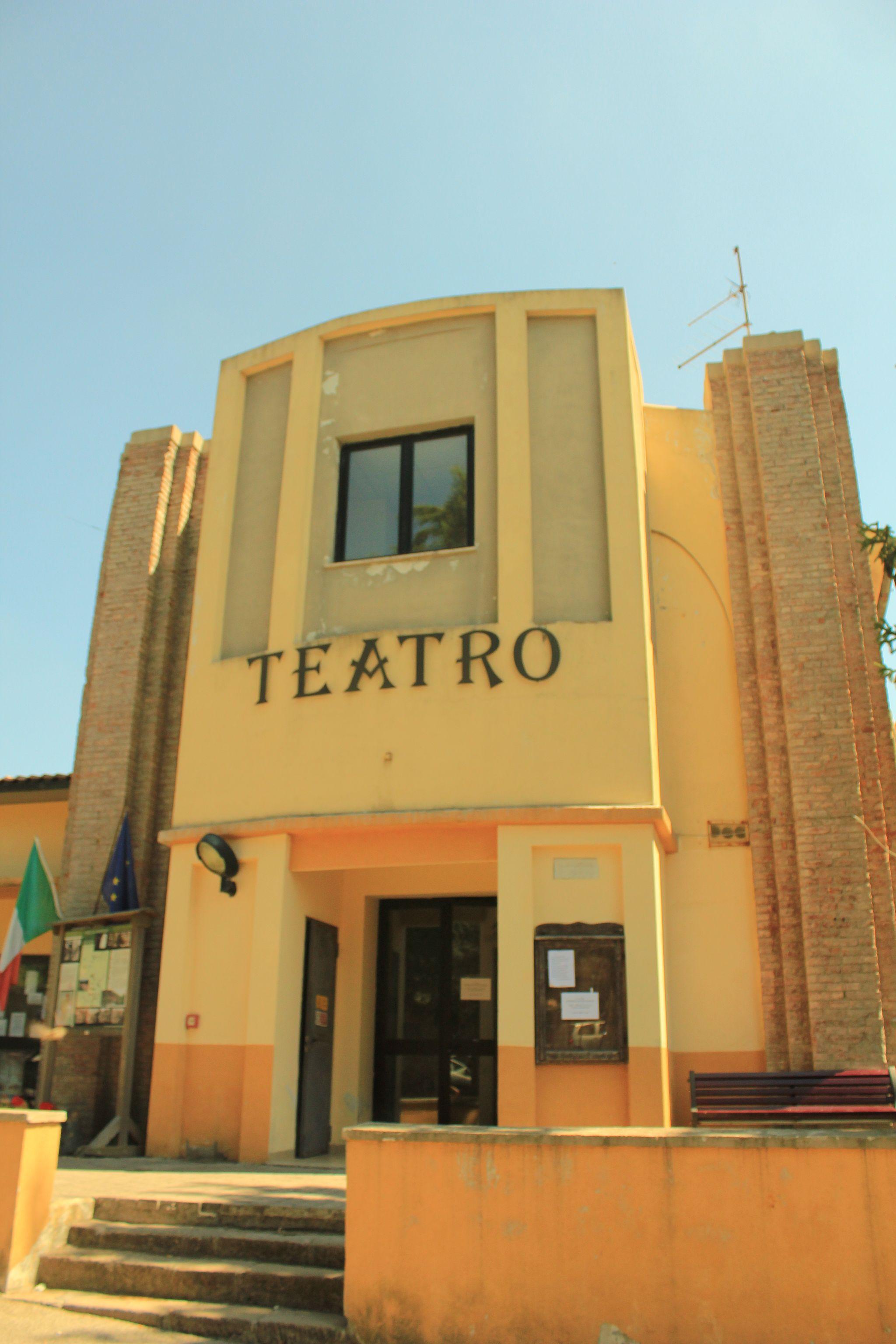Sala teatrale di Boccheggiano, Montieri(GR)