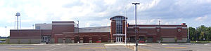 Tecumseh High School (New Carlisle, Ohio) - Image: Tecumseh HS New Carlsile