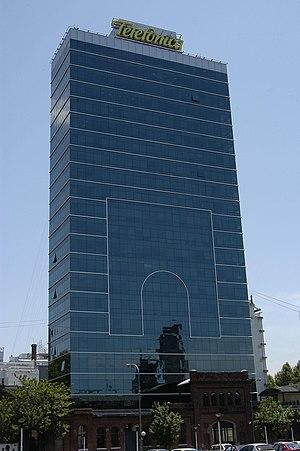 Español: Sede Central de Telefónica de Argenti...