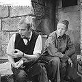 Televisiespel De opgeschreven man, links Ton Lensink, rechts Herbert Joeks, Bestanddeelnr 910-6776.jpg