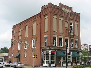 Tell City Oddfellows Hall United States historic place
