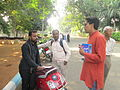 Telugu Wikipedia day 2015 Our history our tewiki photowalk 12.jpg