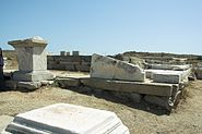 Temple Apollo Delians Delos 102032