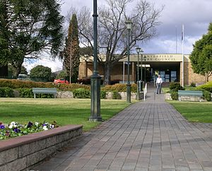 Tenterfield Shire - Tenterfield Shire Council, Rouse Street, Tenterfield.