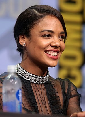 Tessa Thompson - Thompson at the 2017 San Diego Comic-Con