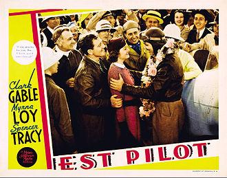 Test Pilot (film) - Image: Test Pilot 2 1936