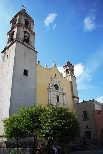 Texcoco, State of Mexico - Facade of the cathedral