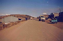 Thaba-Tseka District-Economy-Thaba Tseka Main Road