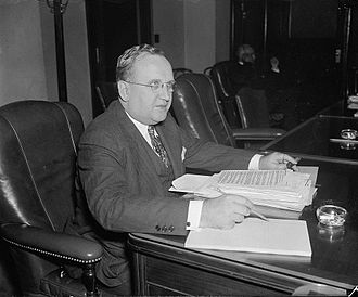 Thad H. Brown - 1937 in Washington, D.C.
