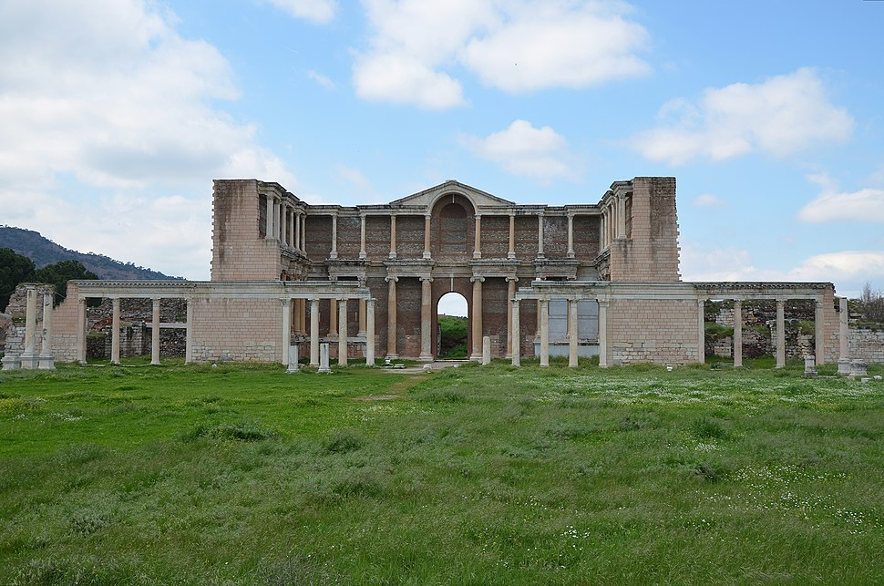 The Bath-Gymnasium complex at Sardis, late 2nd - early 3rd century AD, Sardis, Turkey (17098680002)