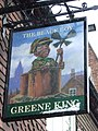 The Black Boy pub sign - geograph.org.uk - 736230.jpg