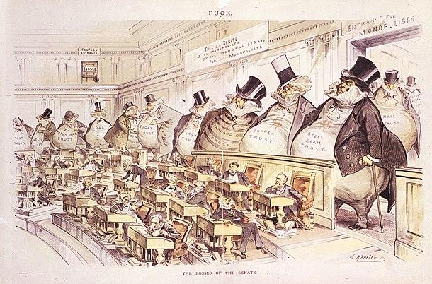 The Bosses of the Senate by Joseph Keppler