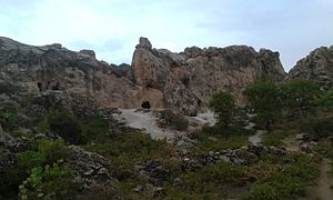 Hossein Kohkan - A image from the stone cave of Hossein Kohkan