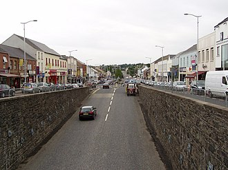 Banbridge - 'The Cut' from above