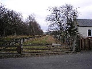 Heriot railway station Disused railway station in Heriot, Scottish Borders