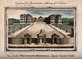 The Foundling Hospital, Holborn, London; a bird's-eye view o Wellcome V0013454.jpg