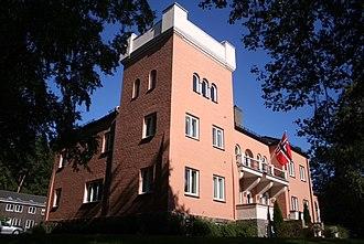 Fridtjof Nansen Institute - The Fridtjof Nansen Institute building