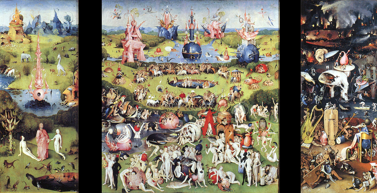 Gardens Hieronymus Bosch And The O 39 Jays On Pinterest