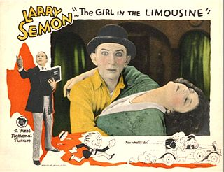 <i>The Girl in the Limousine</i> 1924 film by Larry Semon, Noel M. Smith