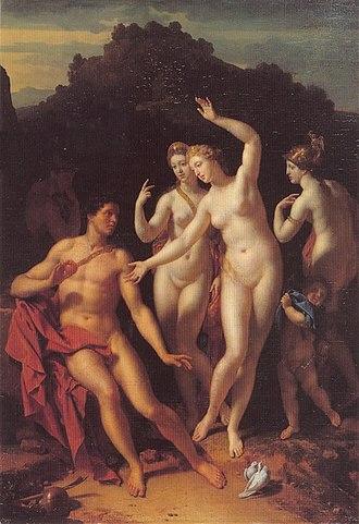1716 in art - Image: The Judgement of Paris by Adriaen van der Werff