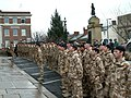 The Light Dragoons stand to attention - geograph.org.uk - 1609348.jpg