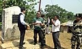 The Minister of State for Home Affairs, Shri Kiren Rijiju visiting the proposed Indo-Bangladesh border trade, at Kawrpuichhuah, in Tlabung, Lunglei district, Mizoram on May 27, 2015 (2).jpg