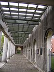 The Peace Garden - Doric loggia moved from Broad Street - colonnade (3626152755).jpg