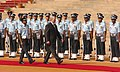 The President of the Republic of Belarus, Mr. Aleksandr Lukashenko inspecting the Guard of Honour at the Ceremonial Reception, in New Delhi on April 16, 2007.jpg