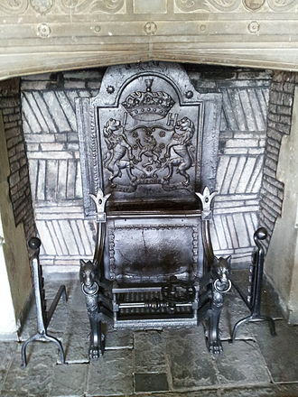 Red Lodge Museum, Bristol - The Parlour Fireplace