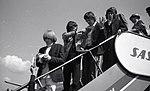 The Rolling Stones ankommer Fornebu, 1965.jpg
