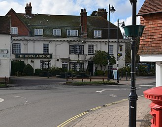 Liphook - The Royal Anchor coaching inn, The Square, Liphook