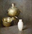 The Samovar by Soren Emil Carlsen, c. 1920, oil on canvas - New Britain Museum of American Art - DSC09491.JPG
