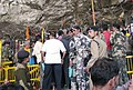 The Security arrangements at the Amarnath Shrine Cave.jpg