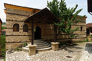 Veria - The Jewish synagogue. Veria had a significant Jewish community until World War II