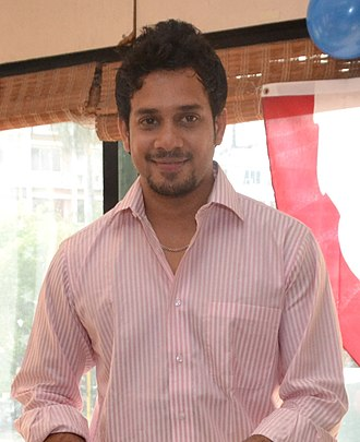 Bharath (actor) - Bharat in 2012