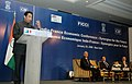 The Union Minister of Commerce and Industry, Shri Kamal Nath delivering the special address at the India-France Economic conference Synergies for the Future, in New Delhi on January 25, 2008.jpg