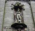 The Wallace Tower statue, Ayr, South Ayrshire.jpg