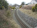The Welsh Highland Railway track south of Dinas station - geograph.org.uk - 721430.jpg