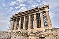 The West Facade of the Parthenon on July 16, 2019.jpg