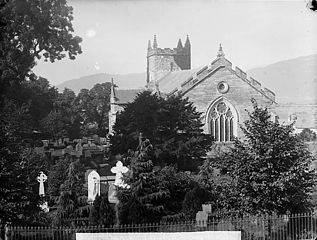 The church, Machynlleth