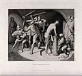 The flagellation of Christ. Etching by H. Nüsser after J.F. Wellcome V0034563.jpg
