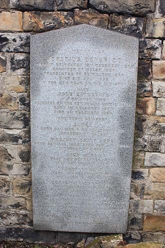 Horatius Bonar - The grave of Horatius Bonar, Canongate Kirkyard